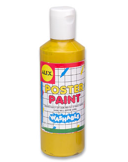 Alex Toys - POSTER PAINT - 8 OZ. YELLOW
