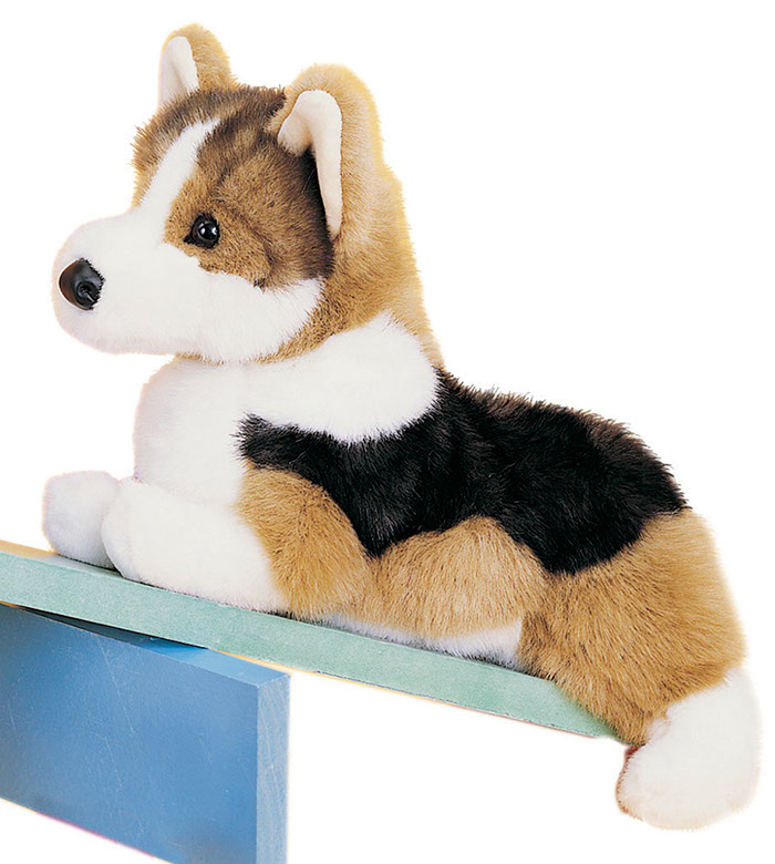 Douglas Toys - Kirby Tri-color Corgi