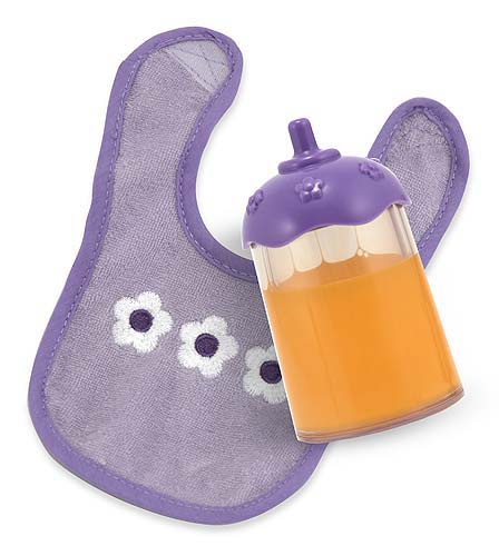 Melissa and Doug Juice Bottle and Bib Set - Mine to Love
