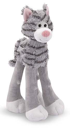 Melissa and Doug Lanky Legs Cat Stuffed Animal