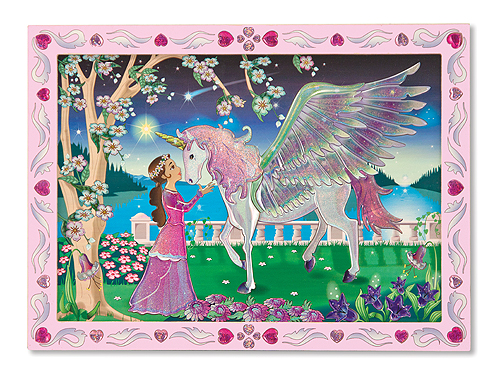 Melissa and Doug Mystical Unicorn Peel & Press Sticker by Numbers