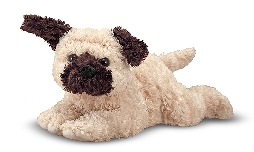 Melissa and Doug Pugsley Pug Puppy Dog Stuffed Animal