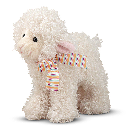 Melissa and Doug Fleecie Lamb Stuffed Animal