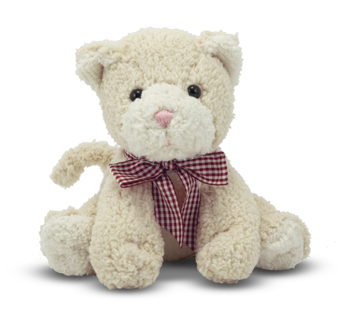 Melissa and Doug Meadow Medley Kitty Cat Stuffed Animal