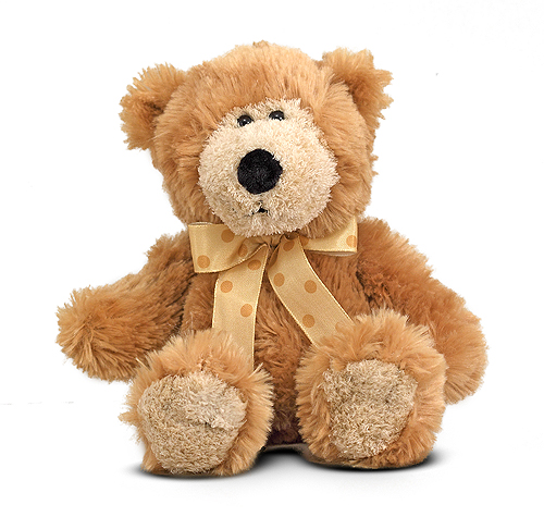 Melissa and Doug - Baby Ferguson Teddy Bear Stuffed Animal