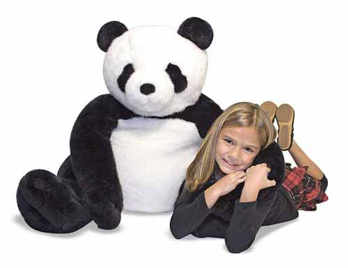 Melissa and Doug - Panda Bear Giant Stuffed Animal