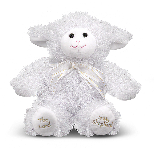 Melissa and Doug 23rd Psalm Lamb Stuffed Animal