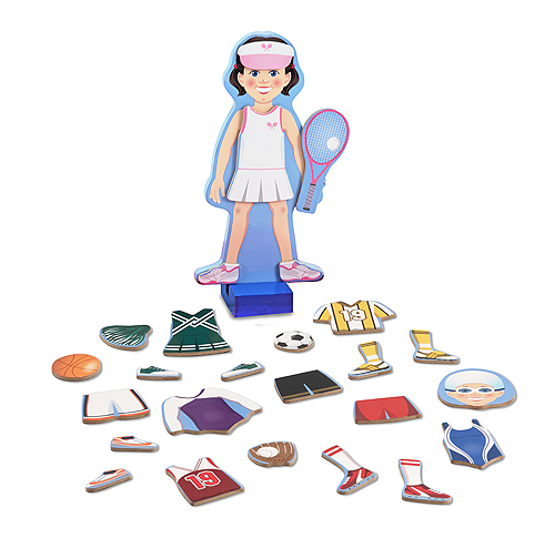 Melissa and Doug Julia Magnetic Dress-Up Set