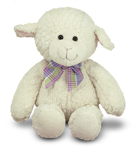 Melissa and Doug Lovey Lamb Stuffed Animal