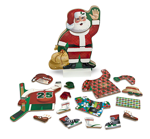 Melissa and Doug Santa Claus Magnetic Dress-Up Set