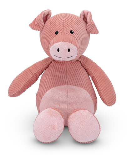 Melissa and Doug - Corduroy Cutie Pig Stuffed Animal