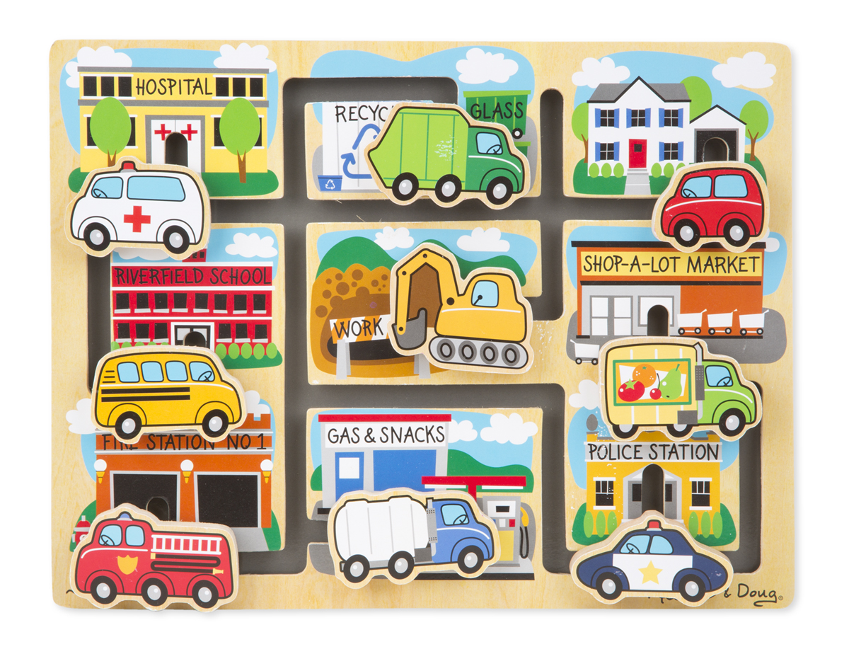 Melissa and Doug Vehicles Maze Puzzle