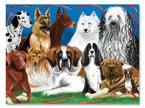 Melissa and Doug Fetching Friends Jigsaw Puzzle - 200 Pieces