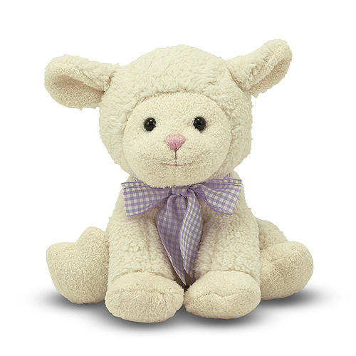 Melissa and Doug Meadow Medley Lamby Stuffed Animal