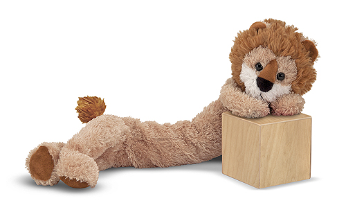 Melissa and Doug Longfellow Lion Stuffed Animal
