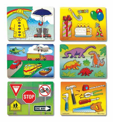 Melissa and Doug Early Learning Puzzle Set